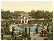 Zoo and Botanical Garden, around 1900